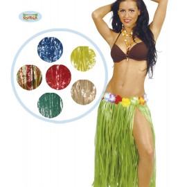 Havajská sukně mix barev 75 cm dlouhá D