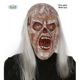 Maska zombie s s otevřenými ústy D