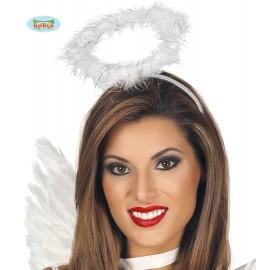 Andělská svatozář bílá