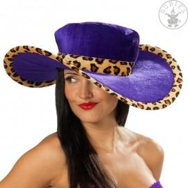 Dámský leopardí klobouk D