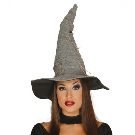 Čarodějnický klobouk šedý 59e99e704b