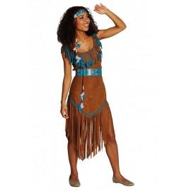 Indiánka - kostým x