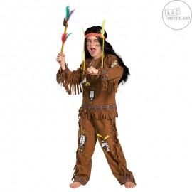 Indiánský kostým chlapecký D
