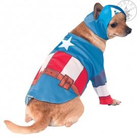 Capitana America - kostým pro pejsky L X
