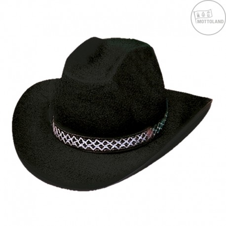 287be03b095 Kovbojský klobouk DALLAS černý