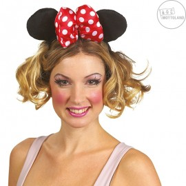 Minnie - velká čelenka s mašlí