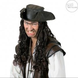 Pirátská paruka s kloboukem D