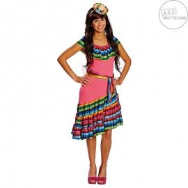 Kostým Mexičanka D