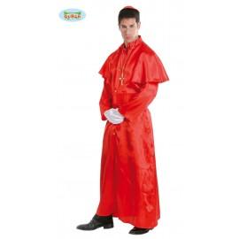 Kardinál - karnevalový kostým