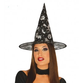 Čarodějnický klobouk s potiskem