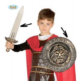 Dětský set bojovníka - meč a štít