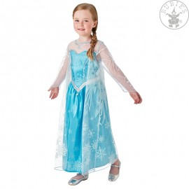Elsa Deluxe (Frozen) Child - kostým L