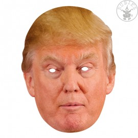 Donald Trump - kartonová maska pro dospělé