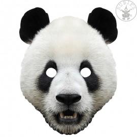 Panda - kartonová maska pro dospělé