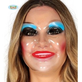 Dámská průhledná maska D