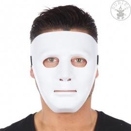 Maska bílá Rubies