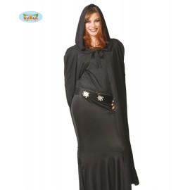 Plášť černý s kapucí x