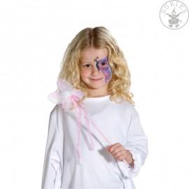 Hůlka s motýlkem látková Košťata, kouzelncké hůlky, hole