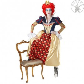 Kostým Red Queen of Hearts Disney - licenční kostým X Alenka v říši divů