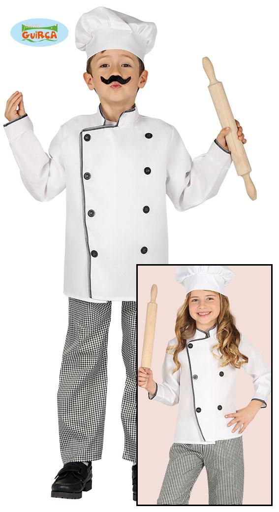 Karnevalový kostým kuchař 4 - 6 let