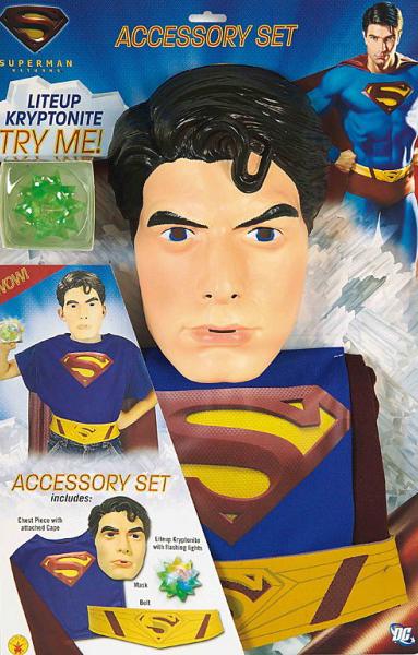 Superman Blister set (6 - 10 roků) - licenční kostým D