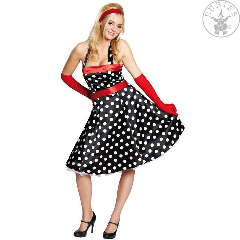 Šaty 50-tá léta