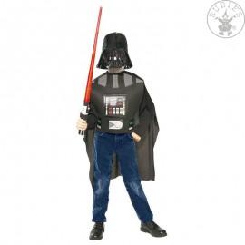 Darth Vader blister dětský (6 - 10 roků) - licenční kostým Filmoví hrdinové