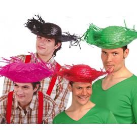 Mexický klobouk sort. barevný Národnosti apod.