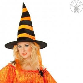 Čaodějnický s oranžovými vlasy D Čarodějnice