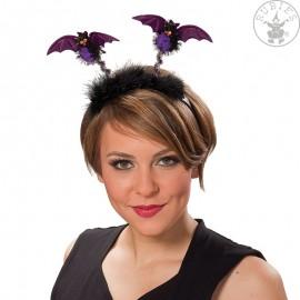 Netopýr spona fialová (4150526) Halloween