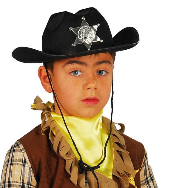 Dětský kovbojský klobouk filcový