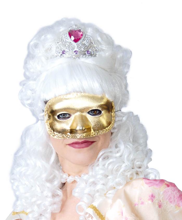 Maska zlatá D