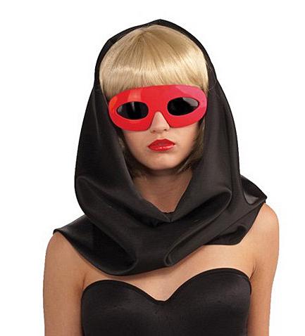Lady Gaga Glasses red - červené brýle - licence D