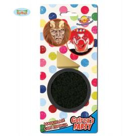 Líčidlo černé s aplikačnou houbičkou Líčidla, tužky