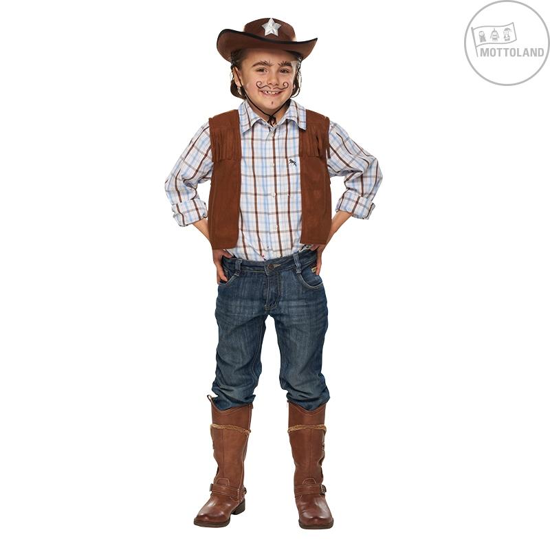 Kovbojská vesta dětská