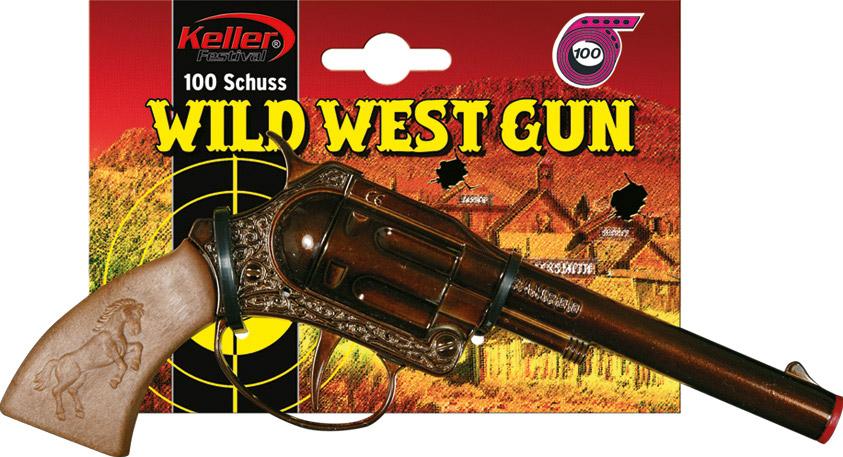 Kovová pistole Rambo - 100 ran