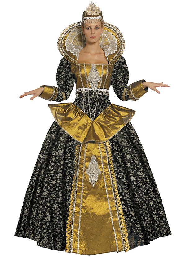 Královna Elizabeth - kostým