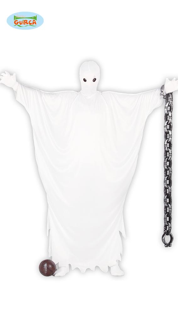 Bílý duch - kostým velikost L