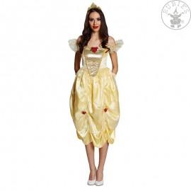 Kostým Golden Belle Adult - licence X Kráska a zvíře