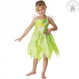 Kostým Zvonilky Classic Big Print - licenční kostým - VADA Zvonilka - Tinker Bell