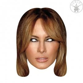 Melania Trump First Lady - kartonová maska pro dospělé Kostýmy Disney